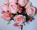 Букет идеальный розовый