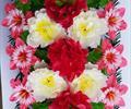 Полянка с цветами ритуальная А0012