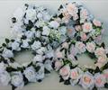 Кольца свадебные розы2