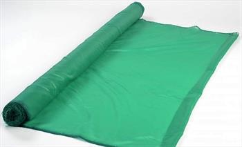 Ткань шелк зелёный.