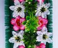 Полянка с цветами ритуальная А 0035