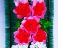 Полянка с цветами ритуальная А 0044